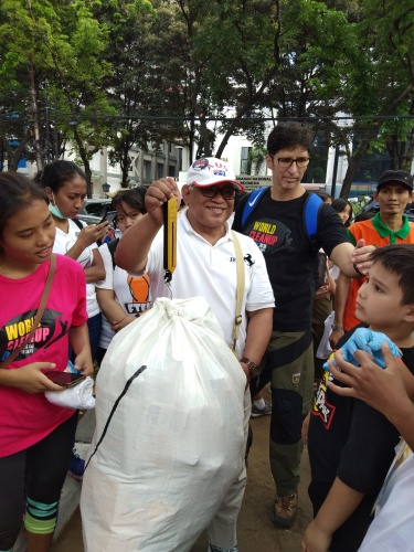 Weigh-ing Recycle Trash - WCD 2018