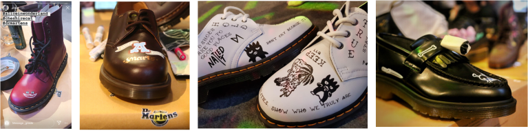 DMs event6 customization by tattoo and lettering artists4