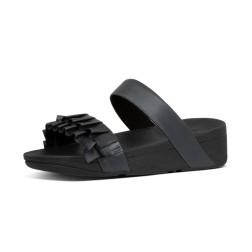 PETAL-RUFFLE-SLIDES-ALL-BLACK_Y94-090