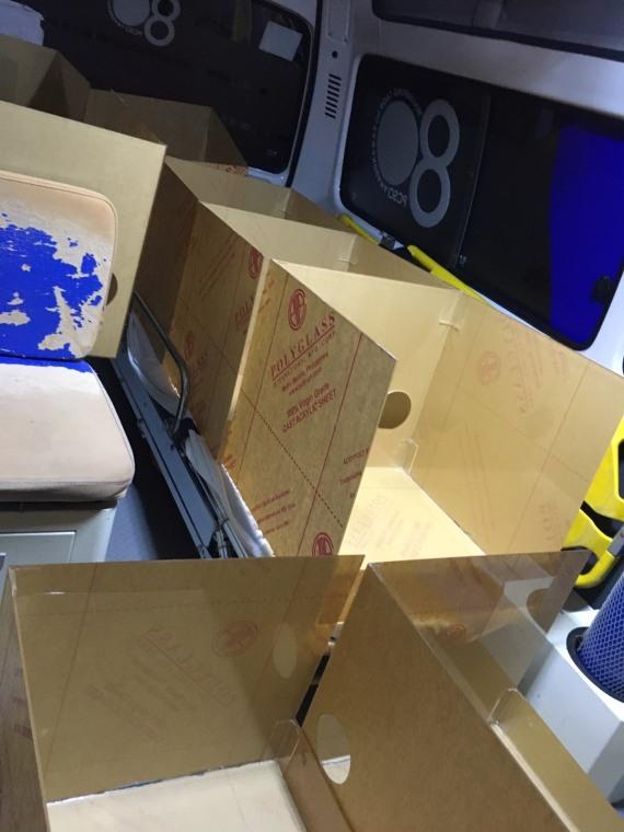 Protective Acrylic boxes